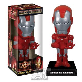 Iron Man Red Silver Target Exclusive Bobble Head Wobble