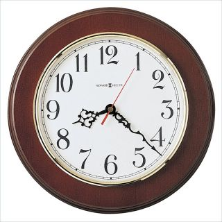 Howard Miller Bentwood Quartz Wall Clock