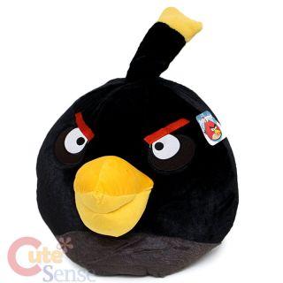 Rovio Angry Birds Black Bird Plush Doll 16 Jumbo Size