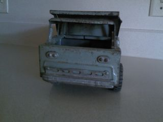 Vintage Metal Toy STRUCTO DUMPER Pressed Steel Toy DUMP TRUCK Diecast
