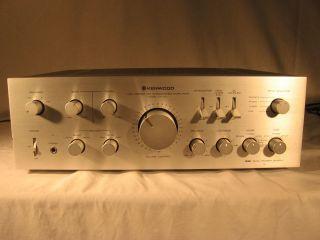 Vintage Kenwood Stereo Integrated Amplifier Ka 701