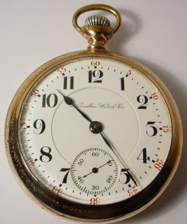 ANTIQUE 940 HAMILTON 21 JEWELS RR RAILROAD POCKET WATCH 18 GOLD FILLED