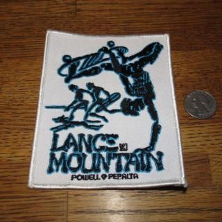 vintage skateboard patch lance mountain powell peralta NOS 80s future