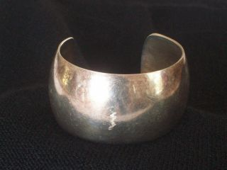 Anton Michelsen Sterling Cuff Bracelet Made in Denmark