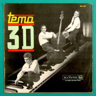LP Tema 3D Trio Bossa Nova Jazz Samba Groove MPB Brazil