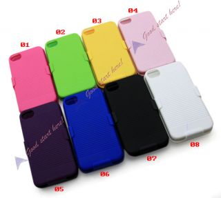 Belt Clip Case Housing with Stand for Apple iPhone 4 4G 4S 4GS