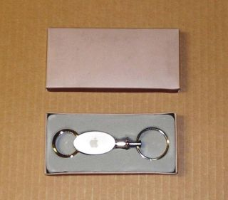 Apple Computer Logo Valet Keychain New in The Box