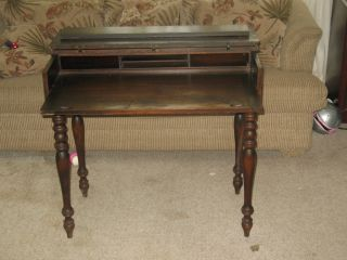 Antique Udell Works Secretary Desk 1920S