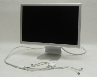 Apple Mac Cinema Display A1081 20 60GHz 1680x1050 Wide Screen LCD DVI