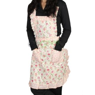Pattern Pocket Lace Craft Commercial Restaurant Kit Chen Aprons