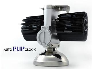 Reloj Mesa Retro Electro Mecanico Diseño Steam Punk