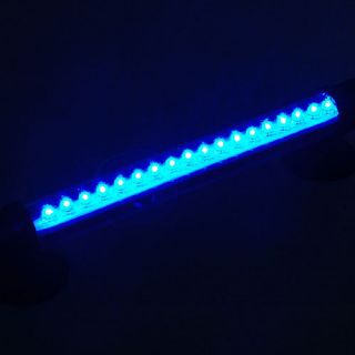Lumiere Bleu 18 LED Light Waterproof PR Aquarium Fish Tank