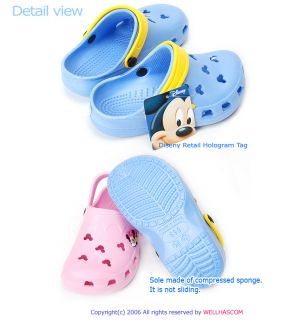 Disney Sandals Kids Girls Boys Flip Flop Aqua Shoes