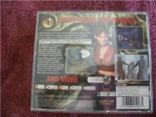 Sega Dreamcast Resident Evil Code Veronica Complete Game 2 Discs Free