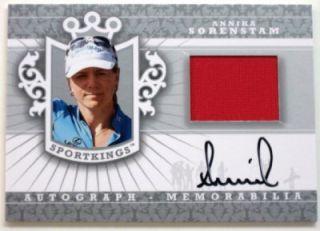 SportKings Sport Kings Golf ANNIKA SORENSTAM Autograph Shirt~Auto *SP