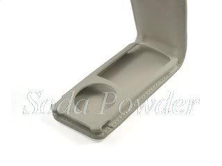 Leather Case Flip Cover for iPod Nano 5 5th Gen White