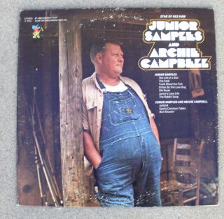 Junior Samples and Archie Campbell Comedy Album Hee Haw