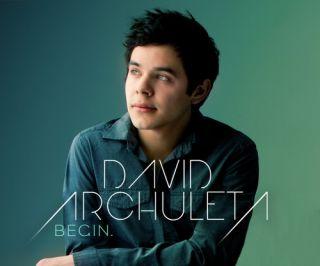 David Archuleta Begin Rock Pop Former American Idol Runner Up CD