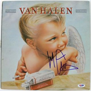 Michael Anthony Van Halen Signed Album Cover w Vinyl PSA DNA Q45800