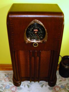 Antique Vintage Tube Radio Console Zenith 6S254