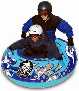 Aqua Leisure Uncle Bobs AW 4107 54 Oversized 2 Rider Snow Tube Sled