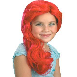 disney the little mermaid ariel wig child disguise description