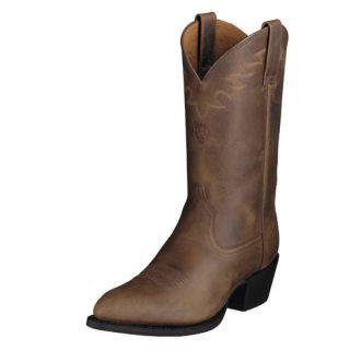Ariat Mens Heritage Sedona Cowboy Boot Distressed Brown 10002194 34625