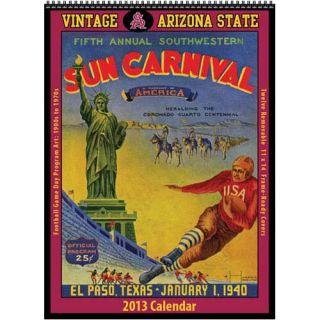Arizona State Sun Devils Vintage 2013 Football Program Calendar