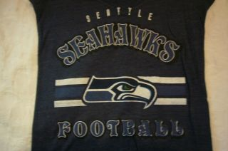 LADIES WOMEN NFL Apparel SEATTLE SEAHAWKS Football Jersey Shirt 50 37