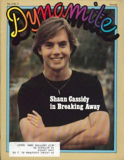 Dynamite 77 Shaun Cassidy Breaking Away Poster 1980