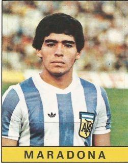 DIEGO ARMANDO MARADONA PANINI SOCCER STICKER CALCIATORI 1979 80