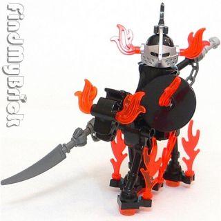 C401 Lego Ghost Army Rider Custom Minifigure Skeleton Horse LOTR C401