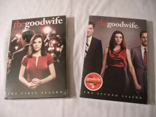 he Good Wife he Firs and Second Seasons DVD 2010 2011 6 Disc Se