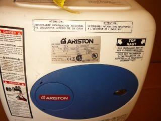 ARISTON BOSCH GL4 4 GALLON INDOOR ELECTRIC MINI TANK WATER HEATER