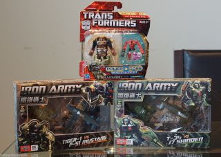 Power Core Combiners Steelshot Bruticus TFC Toys Iron Army