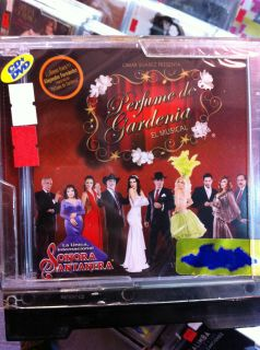 DE GARDENIAS El Musical CD DVD Aracely Arambula William Levy Thalia