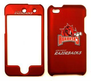 Arkansas Razorbacks Apple iPod Touch 4 Faceplate Case Cover Snap On