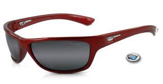 brandnew arnette lowkey sunglasses frame metalred lenses grey