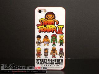 ID011 A Bathing Ape x Marvel Comics iPhone 5 Case Street Fighter II