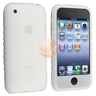 Skin Cover Case Screen Protector for iPhone 1st Gen 4 8 16GB