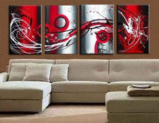handcraft Art Abstract oil Painting Canvas art Wall Parlor Bedroom