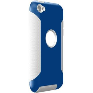 Commuter Case for Apple iPod Touch 4 4th Gen Blue White