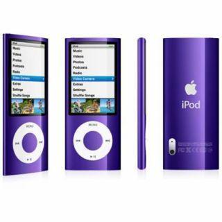 Apple iPod Nano 5th Generation Purple 16GB Video Camera FM Tuner