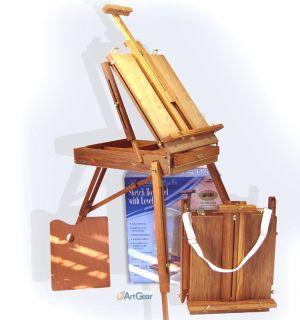 Art Supplies Easel Plein Air Portable Hardwood Full Box European Style