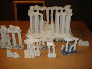 pc. Set Roman / Greek Ruins Columns Aquarium Decorations. Large