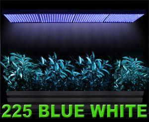 4X 225 LED Grow Light Blue White Panel 26W Plant Aquarium Hydroponic