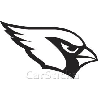 Arizona Cardinals Logo NFL Car Wall Vinyl Sticker Decal
