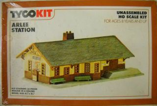 TYCO Arlee Station HO Building Kit Factory sealed