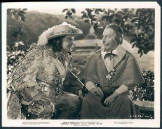 Richelieu Movie Stars George Arliss Edward Arnold Scene Photo