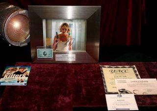 Katherine Heigl Ashton Kutcher Signed Killers Autograph Prop COA DVD